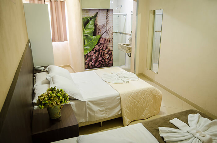Hotel Vale do Café - Machado MG Sul de minas - Quarto Casal 07