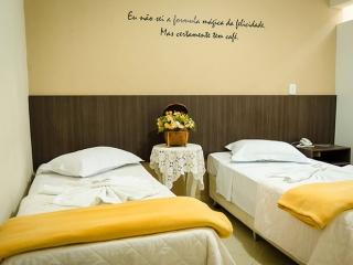 Hotel Vale do Café - Machado MG Sul de minas - Quarto Duplo Solteiro 01
